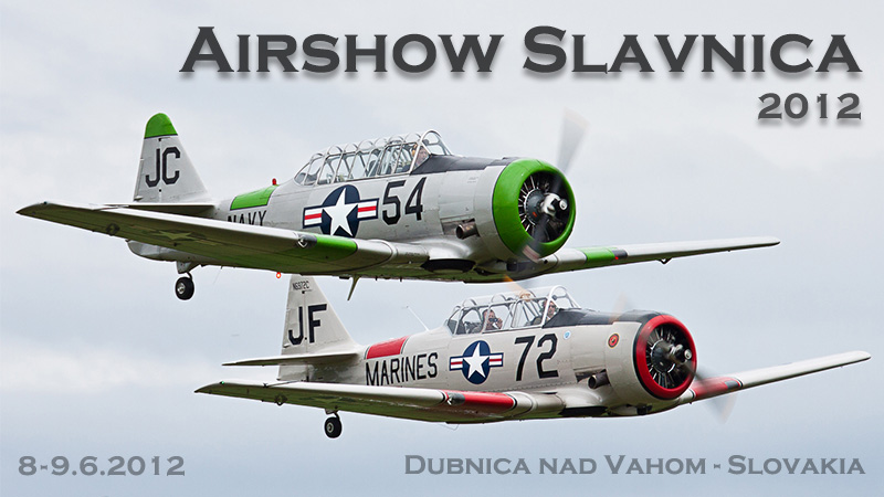 Airshow Slavnica 2012 banner